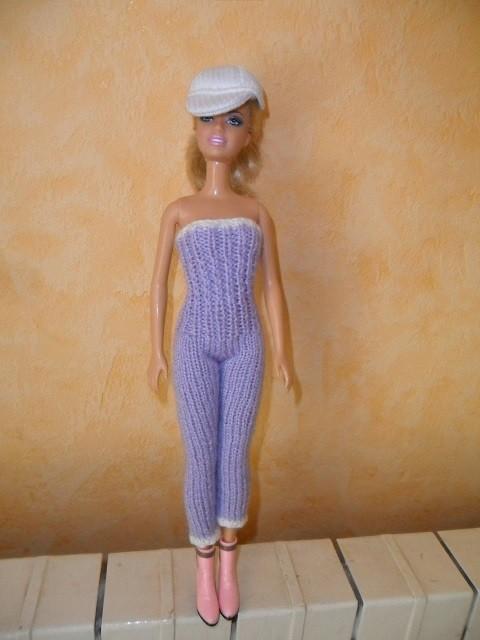 Habits De Barbie Au Tricot