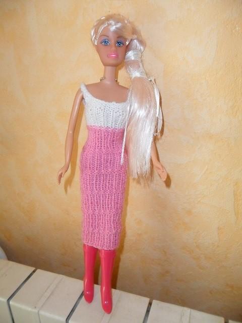 comment tricoter des vetement pour barbie